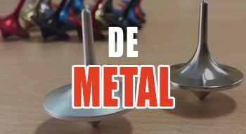 mejores peonzas de metal